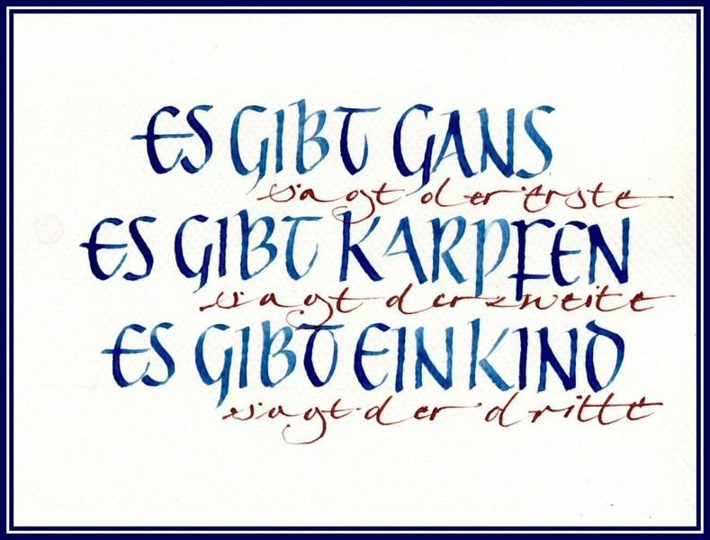Weihnachtskarten kalligrafische weihanchtskarten - Weihnachtskarte englisch ...