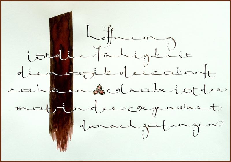 weihnachtskarten kalligrafische weihanchtskarten. Black Bedroom Furniture Sets. Home Design Ideas